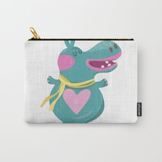 Cute Baby Hippos Carry-All Pouch