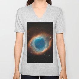 The Helix Nebula Space Photo Unisex V-Neck