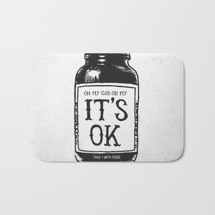 IT'S OK Bath Mat