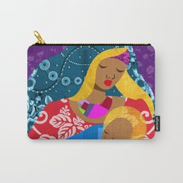 Virgin Mary and Child Carry-All Pouch