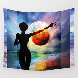 1-10 HALF FULL Wall Tapestry