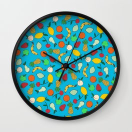 Fruit Salad Wall Clock