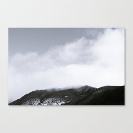 Fog Hill Canvas Print