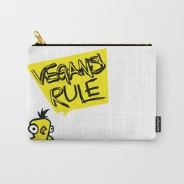 Vegans rule! Carry-All Pouch