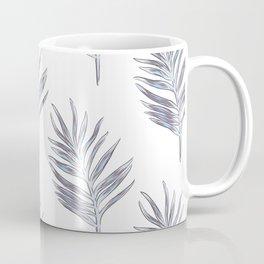 Blue exotic palm Coffee Mug