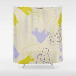 shape up Shower Curtain
