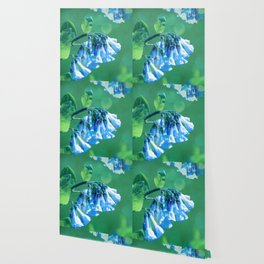 Blue Bells And Boceh Wallpaper