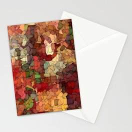 Autumn Inspired Torn Scraps 2492 Stationery Cards