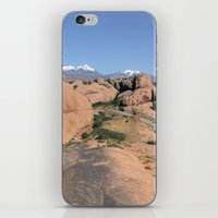 utah iPhone & iPod Skins featuring Moab Utah by BACK to THE ROOTS