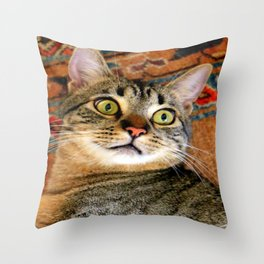 I'm Ready For My Close-up... Throw Pillow