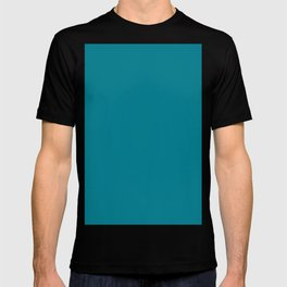 Teal Solid T-shirt