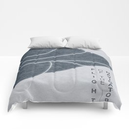Flight of the Navigator - MINIMALIST POSTER Comforters