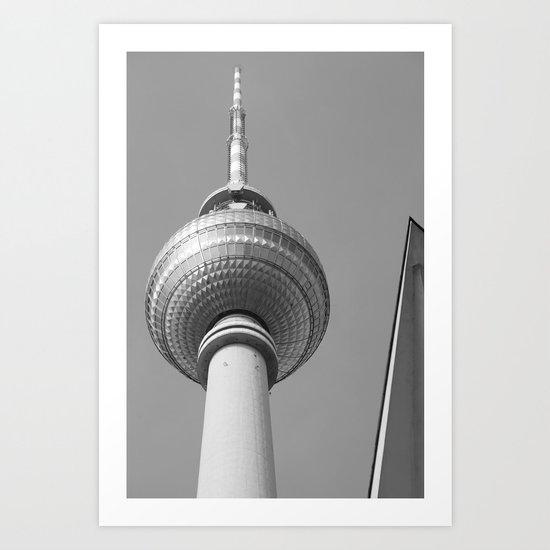 Berliner Fernsehturm TV Tower Art Print