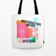 MHS Theatre Officer Shirt Tote Bag