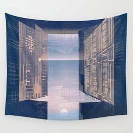 Room -A- Post Biological Era Wall Tapestry