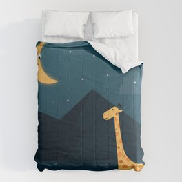 The Giraffe and the Moon Comforters