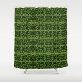 Wildwoods Woodland Tile Shower Curtain