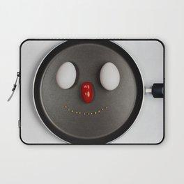 Smiling Frying Pan Laptop Sleeve