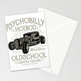 Psychobilly Hot Rod Vintage Garage Stationery Cards