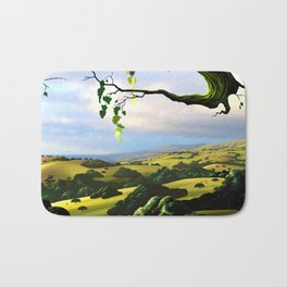 Into The Valley Bath Mat