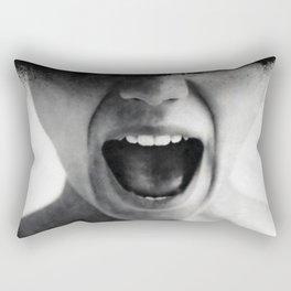 Sometimes i feel like screaming Rectangular Pillow