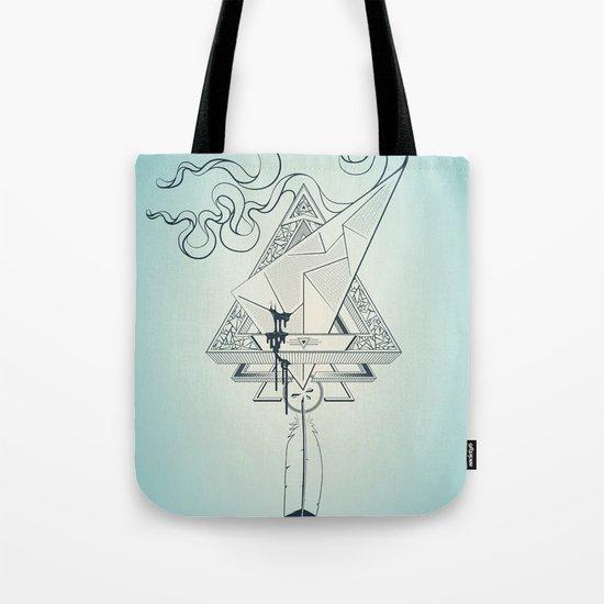 Star Catcher V01 (Black Outline) Tote Bag