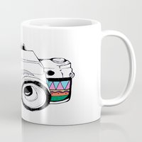 camera Mugs featuring Camera by Mariam Tronchoni