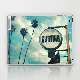 Surfing Sign Laptop & iPad Skin