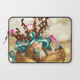 Commissions | Forest Nymph Laptop Sleeve