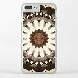 Ouija Wheel of Stars - Beyond the Veil Clear iPhone Case