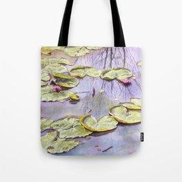 Reflection, watercolor Tote Bag