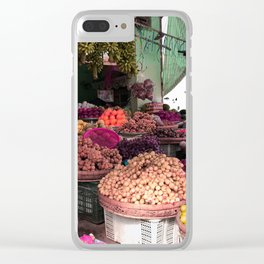 Phu Quoc Market Clear iPhone Case