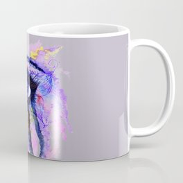 Blue eye splashing Coffee Mug