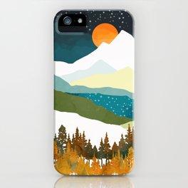Winters Night iPhone Case