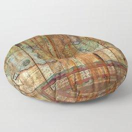 Antique World Floor Pillow