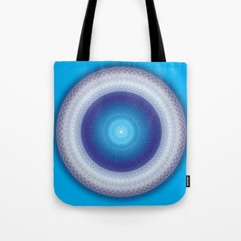 Light Mandala - מנדלה אור Tote Bag