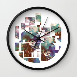 Abstract Expressions Wall Clock