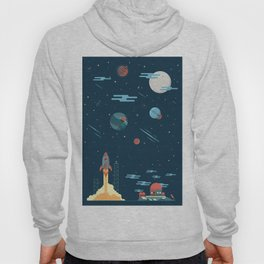 SPACE poster Hoody