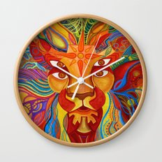 Lion's Visions Wall Clock