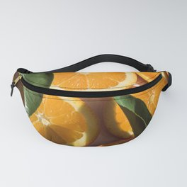 Orange Fruit Pattern Photography Fanny Pack
