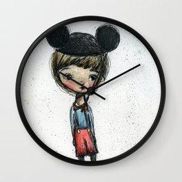 The Happy Boy Wall Clock