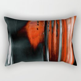 Red & Black Rectangular Pillow