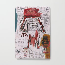 Mr Bones Metal Print