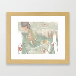 desires with no potential  Framed Art Print