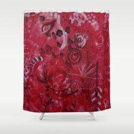 Pink Spirt Shower Curtain