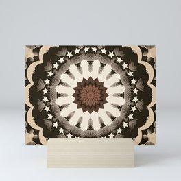 Ouija Wheel of Stars - Beyond the Veil Mini Art Print