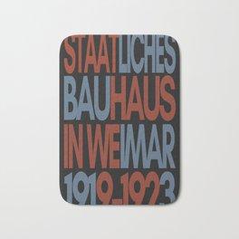 Bauhaus Poster Bath Mat