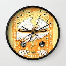 Fat Berts window Wall Clock