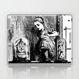 Alice climbing into the Looking Glass Land- John Tenniel Laptop & iPad Skin