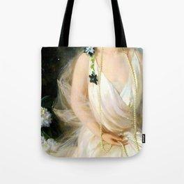 Portrait of Agnes Marsh Tote Bag